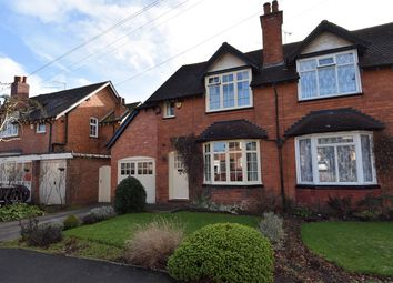 Thumbnail 3 bedroom semi-detached house for sale in Laburnum Road, Bournville, Birmingham