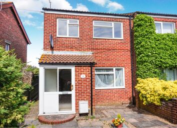 Thumbnail 3 bedroom end terrace house for sale in St. James Road, Chichester