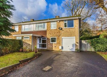 Thumbnail 5 bed semi-detached house for sale in Home Park, Oxted, Surrey