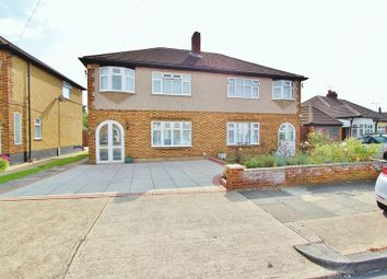 Thumbnail 3 bedroom semi-detached house for sale in Clydeway, Rise Park, Romford
