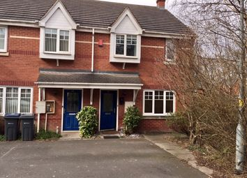 Thumbnail 2 bed terraced house to rent in Canterbury Close, Erdington, Birmingham