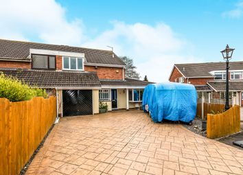Thumbnail 3 bed semi-detached house for sale in Francis Close, Penkridge, Stafford