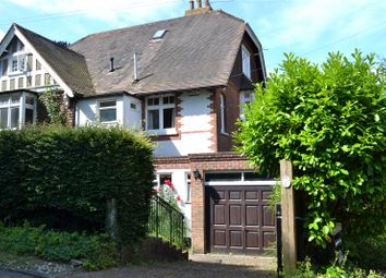 Thumbnail 4 bed semi-detached house for sale in Clarendon Road, Sevenoaks, Kent