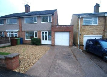 Thumbnail 3 bed property to rent in Bideford Avenue, Baswich, Stafford