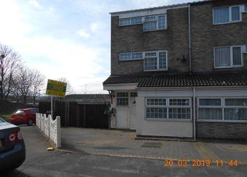 Thumbnail 4 bed end terrace house for sale in Arthur Street, Small Heath