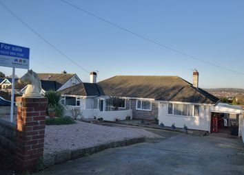 Thumbnail 2 bed bungalow for sale in Nut Bush Lane, Torquay, Devon