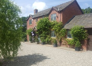 Thumbnail 4 bed detached house for sale in Kiln Lane, Cross Lanes, Wrexham