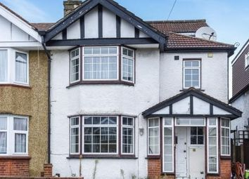 Thumbnail 4 bed semi-detached house for sale in 12 Kingsmead Avenue, Surbiton, Tolworth