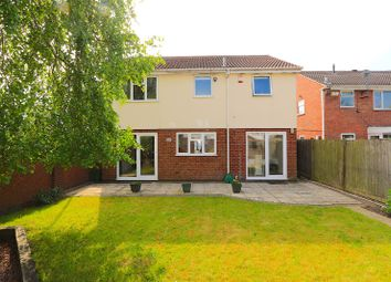 Thumbnail 4 bed detached house for sale in Hunters Way, Leicester Forest East, Leicester