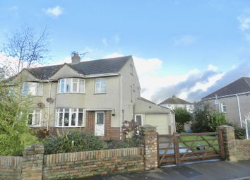 Thumbnail 3 bed semi-detached house for sale in Moorlands Road, Bridgend