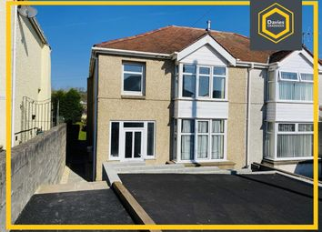 Thumbnail 3 bed semi-detached house for sale in Gower View, Llanelli