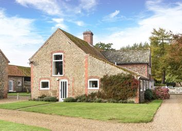 Thumbnail 3 bedroom barn conversion for sale in Blakeney Road, Letheringsett, Holt