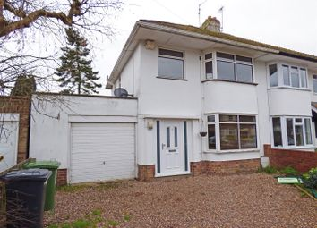 Thumbnail 3 bedroom semi-detached house for sale in Mary Armyne Road, Orton Longueville, Peterborough