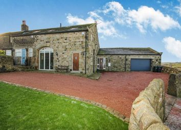 Thumbnail 5 bedroom semi-detached house for sale in Bunkers Hill Lane, Oakworth, Keighley