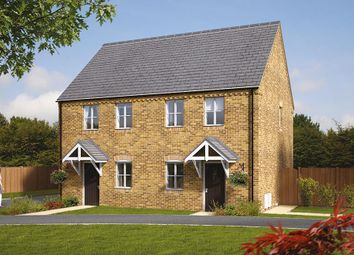 "Thumbnail 2 bedroom semi-detached house for sale in ""The Coleford"" at Brandon Road, Swaffham"