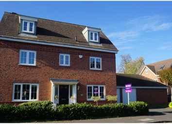 Thumbnail 5 bed detached house for sale in The Garthlands, Stafford