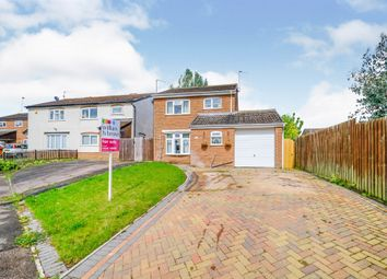 Thumbnail 3 bed detached house for sale in Davis Close, Rothwell, Kettering