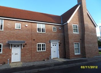 Thumbnail 2 bedroom terraced house to rent in Tudor Rose Way, Starston, Harleston