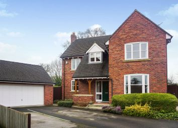 Thumbnail 5 bed detached house for sale in Fern Close, Wrexham