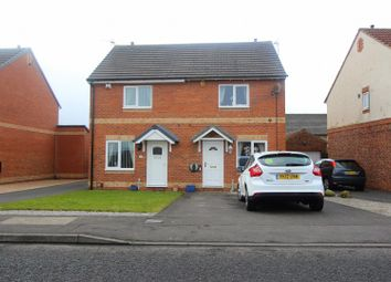 Thumbnail 2 bedroom semi-detached house to rent in Darrowby Drive, Darlington