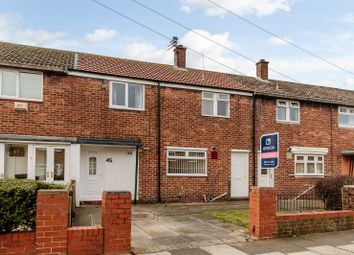 Thumbnail 3 bed terraced house for sale in 45 Falmouth Road, North Shields