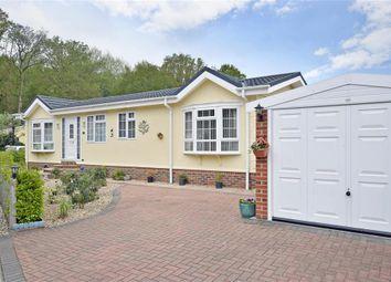 Thumbnail 2 bedroom mobile/park home for sale in Whitehill Park, Whitehill, Bordon, Hampshire