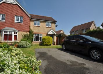 Thumbnail 3 bed semi-detached house to rent in Vincent Place, Kennington, Ashford