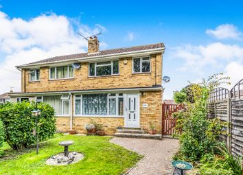 Thumbnail 3 bedroom semi-detached house for sale in Elland Close, Fair Oak, Eastleigh