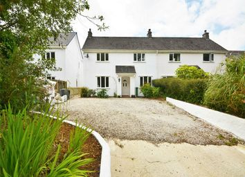 Thumbnail 3 bed semi-detached house for sale in Gwennap, Redruth, Cornwall
