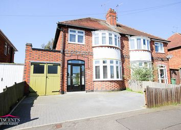 Thumbnail 3 bedroom semi-detached house for sale in Edward Avenue, Leicester