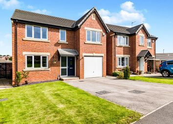 Thumbnail 4 bed detached house for sale in Round Hill Road, Pudsey, Leeds