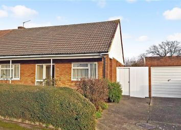 Thumbnail 2 bed semi-detached bungalow for sale in Coombe Road, Hoo, Rochester, Kent