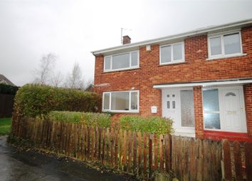 Thumbnail 3 bed end terrace house to rent in Greenfields Road, Bishop Auckland