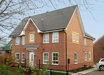 "Thumbnail 3 bed detached house for sale in ""Morpeth"" at Fordhouse Road Industrial Estate, Steel Drive, Wolverhampton"