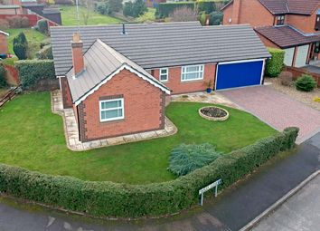 Thumbnail 3 bed bungalow for sale in Yaxley Close, Thurnby