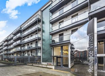Thumbnail 3 bed flat to rent in Pickfords Wharf, Wharf Road, London