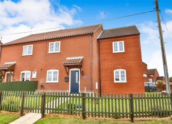 Thumbnail 4 bed semi-detached house for sale in Halifax Crescent, Sculthorpe, Fakenham
