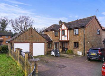 Thumbnail 4 bedroom detached house for sale in Carlton Tye, Horley, Surrey
