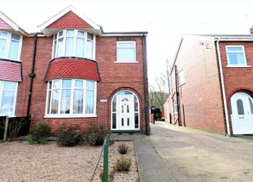 Thumbnail 3 bed semi-detached house for sale in Old Barn Lane, North Street, Roxby, Scunthorpe