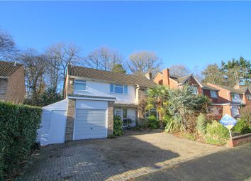 Thumbnail 4 bed detached house for sale in Highbury Crescent, Camberley, Surrey