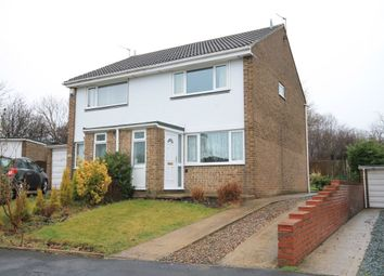 Thumbnail 2 bed semi-detached house for sale in Thorntons Close, Pelton, Chester Le Street