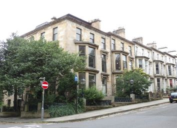 Thumbnail 1 bed flat to rent in Huntly Gardens, Glasgow