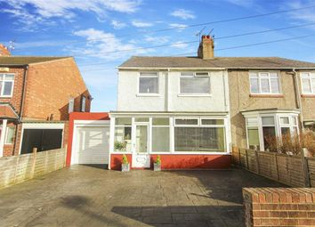 Thumbnail 3 bed semi-detached house for sale in Hermiston, Whitley Bay, Tyne And Wear