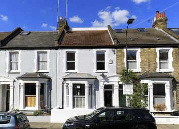 Thumbnail 3 bed terraced house for sale in Burnthwaite Road, London