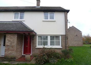Thumbnail 2 bedroom end terrace house to rent in Magdalene Close, Longstanton, Cambridge