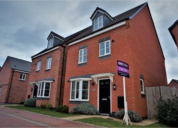 Thumbnail 4 bed detached house for sale in Pasture Drive, Leicester