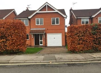 Thumbnail 4 bed detached house to rent in Private Road, Southwell