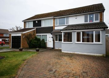 Thumbnail 4 bed semi-detached house for sale in The Downs, Wigan