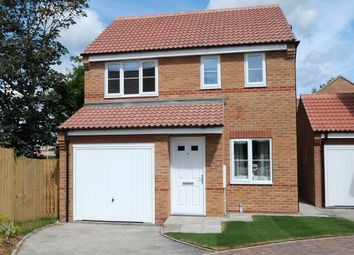 "Thumbnail 3 bed detached house for sale in ""The Rufford"" at Station Road, North Hykeham, Lincoln"