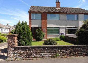 Thumbnail 3 bed semi-detached house for sale in Martinton Road, Heathhall, Dumfries